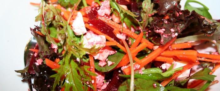 Beetroot, Feta and Macadamia Nut Salad