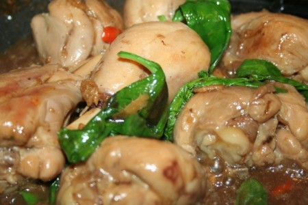 chicken basil stir fry recipe