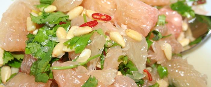Resep Salad Jeruk Bali Mudah ~ Very Refreshing Pomelo Salad