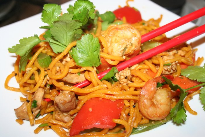 Indonesian Mie Goreng style spicy fried noodles. » Mie Goreng no.3 w ...