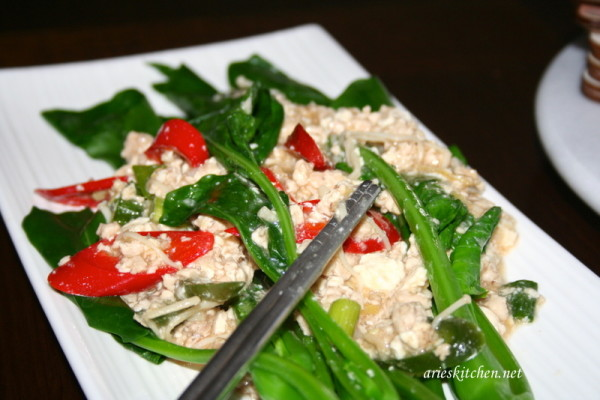 kailan and chicken with oyster sauce recipe