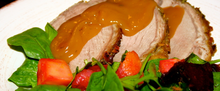 Roast Beef and Winter Salad Recipe