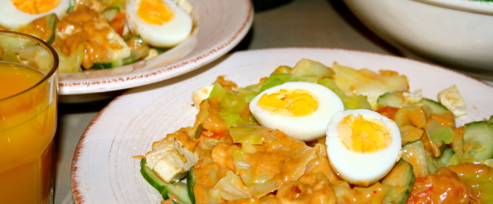 Super Easy Gado Gado Recipe