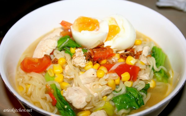 chicken noodles soup recipe