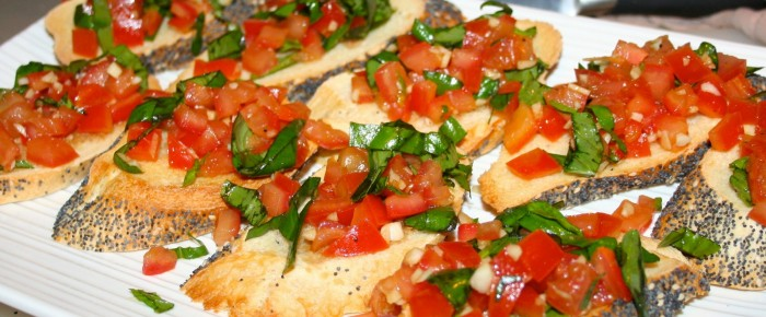 Fresh Bruschetta Recipe