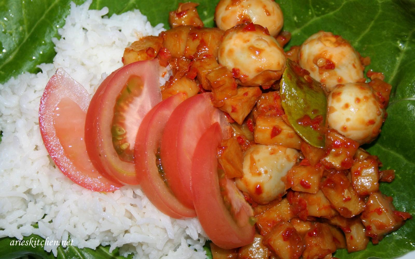 Resep Sambal Goreng Kentang Telur Puyuh Arie S Kitchen