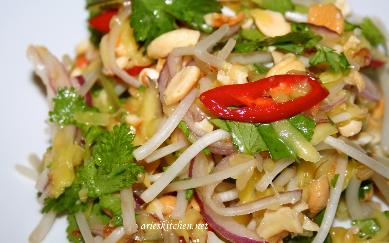 My Yummy Mango Salad Recipe