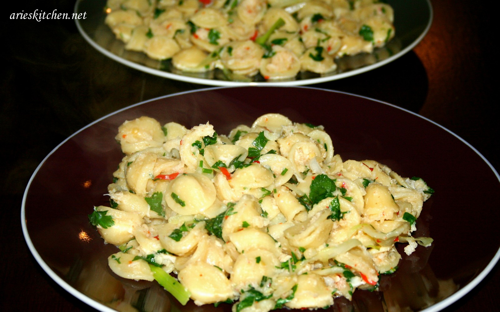 Pasta Crab Meat Recipes - Arie's Kitchen