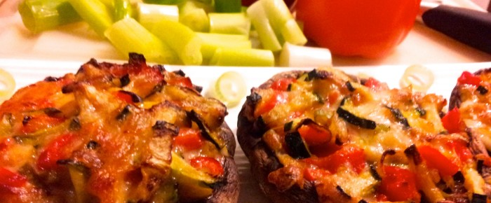 Arie's Kitchen Stuffed Mushrooms Recipe