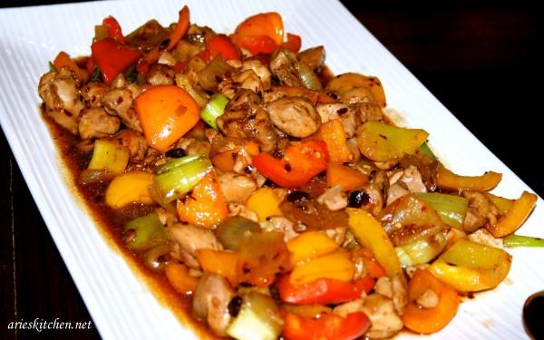 black bean garlic sauce recipe