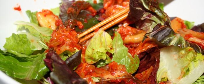 Kimchi Salad Recipe Idea