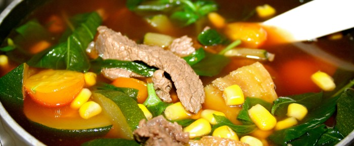 Beef and Basil Soup Recipe