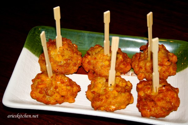 Special Corn Fritters Recipe