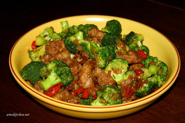 Stir Fried Broccoli with Sausages Recipe
