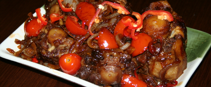 Oxtail ala Arie's Kitchen