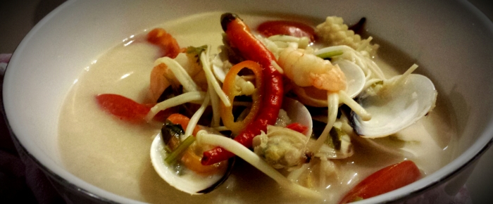 Tom Yum Soup Recipe ala Arie's Kitchen