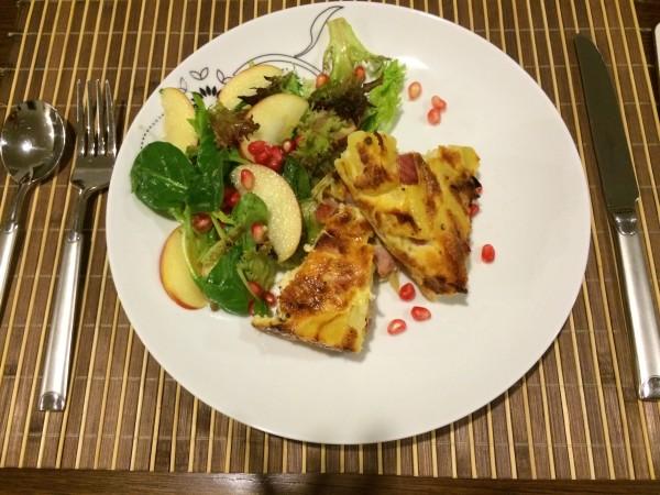 Arie's Kitchen Yummy Frittata Recipe