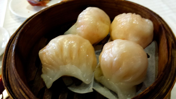 Steamed Shrimp Dumplings or Har Gau