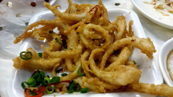 Salt and Pepper Chilli Squid