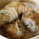 Tofu Bean Curd Roll or Sin Jyut Gyun