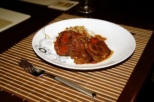 Lamb Casserole Asian Style Recipe