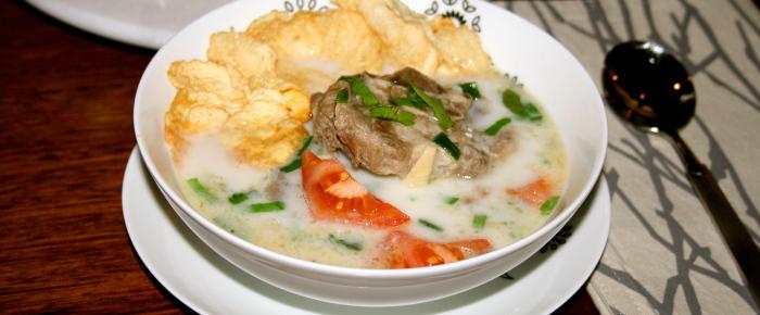 Lamb Soup Jakarta Style