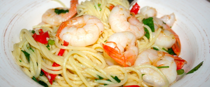 Simple Prawn Spaghetti Recipe