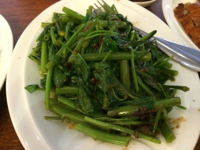 Chinese Kangkong Water spinach