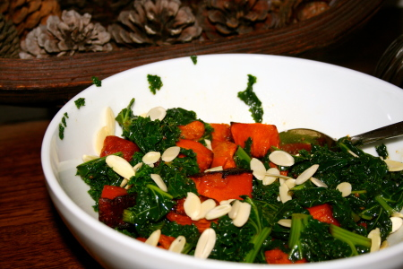 Kale Pumpkin Salad Recipe