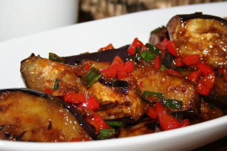 Sweet and Sour Eggplant Recipe