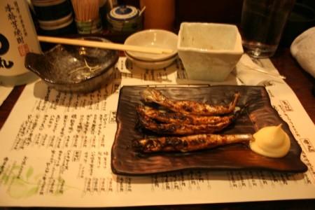 Sardines Japanese Style