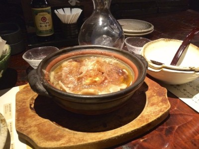 Tosa Style Soup Japanese Food Tokyo Japan