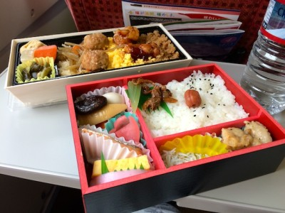 Can I buy food in the bullet train in Japan ? Shinkansen food