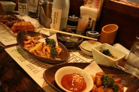 Yakitori Restaurant Tokyo Japan