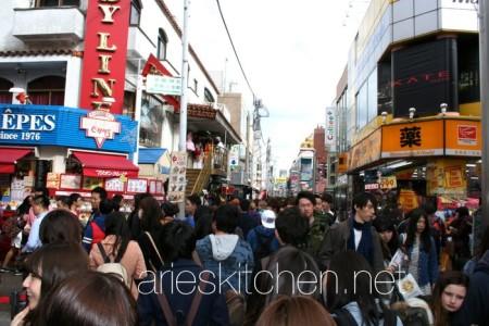 Inside Harajuku Area